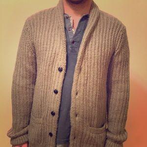 Abercrombie & Fitch shawl cardigan. Size medium.